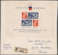Liechtenstein: 1926/1936, Sammlung Von Ca. 53 Briefen Und Karten Mit Etlichen Interessanten Frankatu - Verzamelingen