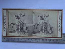 Photo Stéréoscopique ITALIE NAPOLI - Musee De Naple - N° 526 Nereide - Stereoscopic