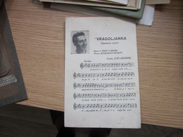 Vragoljanka Valcer E Di Lazzaro Old Postcards - Music And Musicians