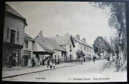 Jura 39 -  Censeau - Rue Principale ( Belle Animation ) édition Royet - Other Municipalities