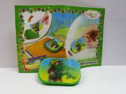 Kinder :  MPG 2S-061  Popstar Grillys - Spielezeug 2006 - Wackelbild Anstecker 2  + BPZ - Monoblocchi