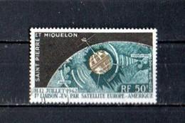 Timbre Oblitére De Saint Pierre Et Miquelon 1962 P.A 29 - Usati