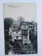 Wiesbaden / Freseniusstrasse  19  / Old Postcard 1908 Year - Wiesbaden