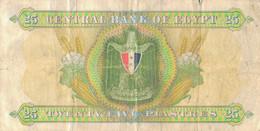 K29 - EGYPTE - Billet De 25 PIASTRES - Egypt