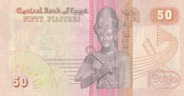 K29 - EGYPTE - Billet De 50 PIASTRES - Egypt