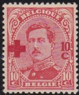 Belgie   .    OBP    .    153    .     **    .   Postfris .   /   .  Neuf Avec Gomme Et Sans Charnière - 1918 Croix-Rouge