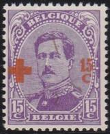 Belgie   .    OBP    .    154    .     **    .   Postfris .   /   .  Neuf Avec Gomme Et Sans Charnière - 1918 Croix-Rouge