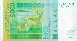 K29 - ÉTATS D'AFRIQUE DE L'OUEST - Billet De 5000 FRANCS CFA - West African States