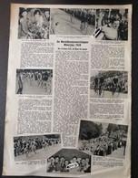 WIELERSPORT.1938. WAAR JEF SCHERENS FAALDE WERD MARCEL KINT GEKROOND/ WEGKAMPIOENSCHAPPEN VALKENBURG/CAUBERG - Unclassified