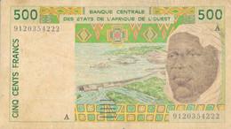 K29 - ÉTATS D'AFRIQUE DE L'OUEST - Billet De 500 FRANCS CFA - West African States