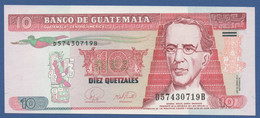 GUATEMALA - P.111b – 10 Quetzal  2007 UNC Serie D57430719B - Guatemala