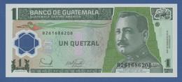 GUATEMALA - P.109 – 1 Quetzal  20.12.2006 UNC Serie B - Guatemala