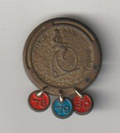 Medaille ANWB VVV Landelijke Fietsdag 1978---1980 Velo-fiets-bicycle - Professionals/Firms