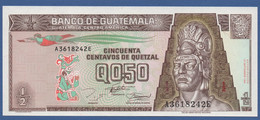 GUATEMALA - P.86b – 50 Centavos De Quetzal 27.09.1994 UNC Serie A3618242E - Guatemala