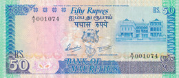 K30 - ILE MAURICE - Billet De 50 ROUPIES - Mauritius