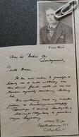 CALMTHOUT..1932.. UITBETALING ONGEVALLENVERZEKERING AAN FRANS MAES - Unclassified