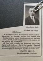 RECKEM..1933.. UITBETALING ONGEVALLENVERZEKERING AAN DE HEER EMIEL BEELS - Unclassified