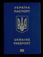Republic Of Ukraine Biometric Passport / Passeport / Reisepass  (EXPIRED) VERY RARE!!! PERFECT CONDITION !! - Unclassified