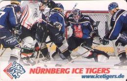 ALEMANIA. ICE HOCKEY. Nürnberg Ice Tigers.  DE-P 02/02 (089) - Sport