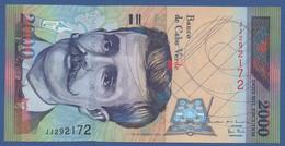 CAPE VERDE - P.66 –  2.000 Escudos 01.07.1999  UNC Prefix JJ - Kaapverdische Eilanden