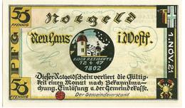 Duitsland Notgeld 1921 50pfg Neuhaus Westfalen UNC (3240) - [11] Lokale Uitgaven
