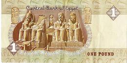 Egypte 1 Biljet Van 1 Pound Gebruikt (3243) - Egypt