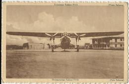 132 - Trimoteur Fokker FVII - Propagande Aéronautique Rue De La Loi 90 - Bruxelles (photo Sabena) - 1946-....: Modern Tijdperk