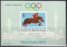 RUMÄNIEN  Block 94, Postfrisch **, Olympische Sommerspiele München, 1972 - Blocs-feuillets