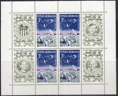 RUMÄNIEN  Block 95, Postfrisch **, Apollo 16, 1972 - Blocks & Kleinbögen