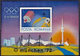 RUMÄNIEN  Block 98, Postfrisch **, Olympische Sommerspiele München, 1972 - Blocs-feuillets