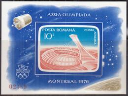 RUMÄNIEN  Block 136, Postfrisch **, Olympische Sommerspiele Montreal, 1976 - Blocs-feuillets