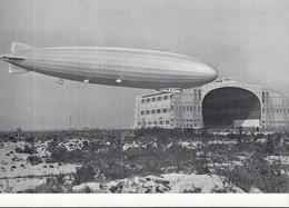 """Zeppelin LZ 126 / """"Los Angeles"""", In Lakehurst 1924, Reprint Um 1974, Mit SoSt: 75. Todestag Graf Zeppelin 8.3.1992 - Luchtschepen"""