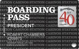 Station Casinos Las Vegas, NV - Slot Card Copyright 2016 - Casinokarten