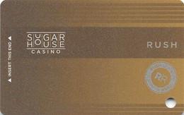 Sugar House Casino - Philadelphia, PA - BLANK Slot Card - No Text Over Mag Stripe - 2 Lines Bottom Text Reverse - Casinokarten