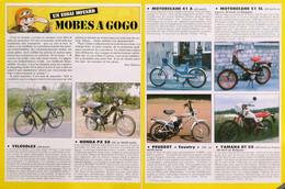Article Papier 2 Pages CYCLOMOTEURS VELOSOLEX MOTOBECANE PEUGEOT COUNTRY HONDA YAMAHA 1986  SP1057870 - Unclassified
