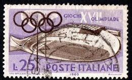 ITALIA - 1960 - Giochi Della XVII Olimpiade - (RD30014) - 1946-60: Gebraucht