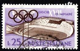 ITALIA - 1960 - Giochi Della XVII Olimpiade - (RD30010) - 1946-60: Gebraucht