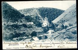 Cpa  De Moldavie Bessarabie Monastère Saharna   SPT21-05 - Moldova