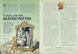 Article Papier 5 Pages BEATRIX POTTER PIERRE LAPIN NOISY  Octobre 1994 P1049524 - Unclassified