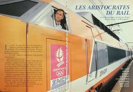 Article Papier 6 Pages CONDUCTEURS TGV  Avril 1993 P1049577 - Unclassified