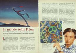 Article Papier 6 Pages LE MONDE SELON FOLON  Janvier 1994 P1049542 - Unclassified