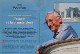 Article Papier 11 Pages COMMANDANT COUSTEAU Janvier 1993 P1049589 - Unclassified