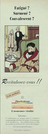 Publicité Papier HADDOC TINTIN REVITALOSE  Décembre 1993 P1049548 - Werbung