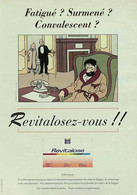 Publicité Papier REVITALOSE HADDOCK HERGE TINTIN Novembre 1994 P1049533 - Werbung