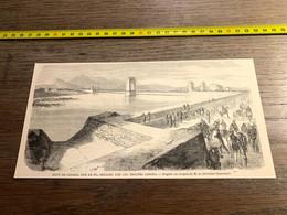 1859 Ill1 Pont De Casale Sur Le Po Défendu Par Les Troupes Sardes Chevalier Giacomelli - Unclassified