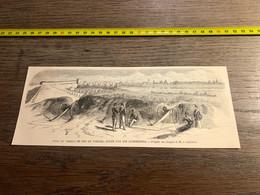 1859 Ill1 Pont Du Chemin De Fer De Verceil Coupé Par Les Autrichiens - Unclassified