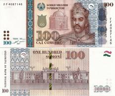 ТАДЖИКИСТАН 100   2017 UNC - Tajikistan
