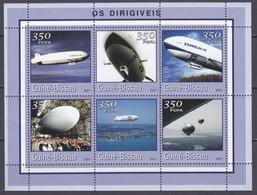 2001Guinea Bissau1773-1778KLZeppelin 9,00 € - Zeppelins