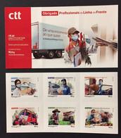 Portugal 2021 - COVID-19. Thanks Front Line Professionals Booklet MNH - Blocks & Kleinbögen
