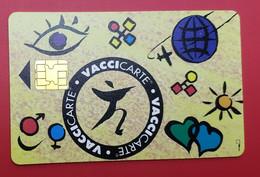 GEMPLUS - DEMO CARD - MERIEUX MSD - VACCICARTE  - RARE - Tarjetas De Salones Y Demostraciones